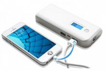 Powerbank Monster LCD 16000mah Narancs